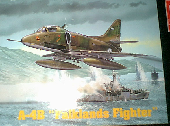 A4B Falklands Fighter boxtop image